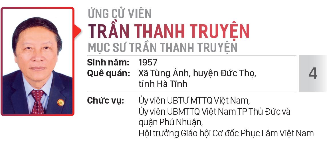 Danh sách chính thức những người ứng cử đại biểu HĐND TPHCM khóa X, nhiệm kỳ 2021 - 2026 - Đơn vị bầu cử số: 21 (quận Phú Nhuận) ảnh 5