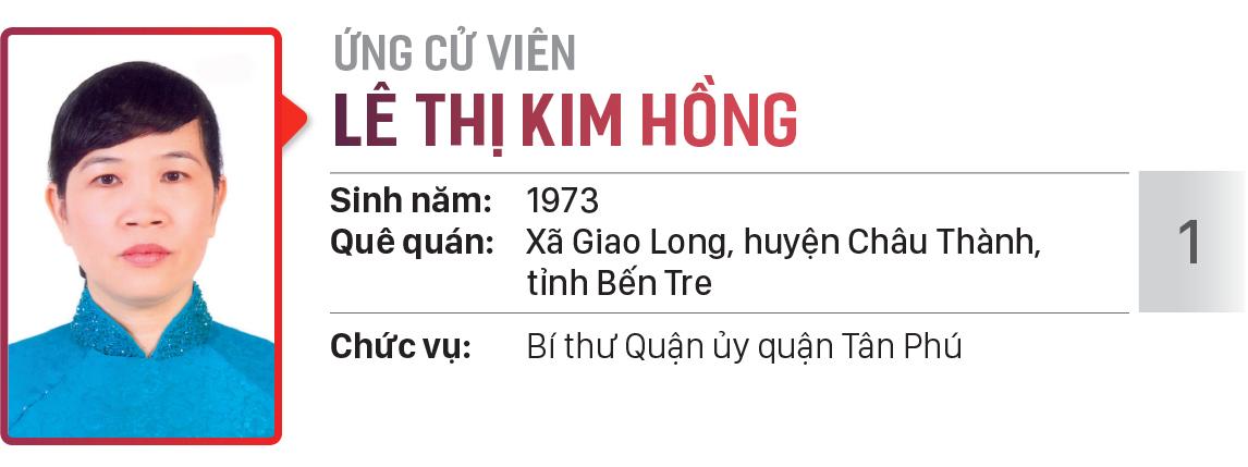 Danh sách chính thức những người ứng cử đại biểu HĐND TPHCM khóa X, nhiệm kỳ 2021 - 2026 - Đơn vị bầu cử số: 23, 24 (quận Tân Phú) ảnh 8