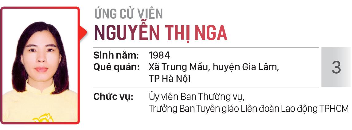 Danh sách chính thức những người ứng cử đại biểu HĐND TPHCM khóa X, nhiệm kỳ 2021 - 2026 - Đơn vị bầu cử số: 30, 31 (huyện Hóc Môn) ảnh 4