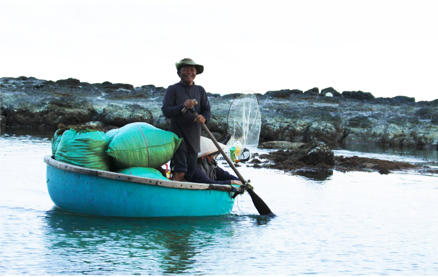 Vẻ đẹp của rong mơ biển trong mùa thu hoạch ảnh 24