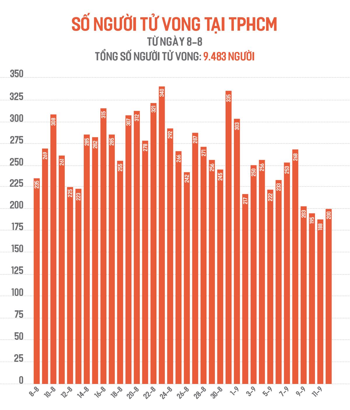 Số ca tử vong do Covid-19 tại TPHCM trên đà giảm ảnh 2