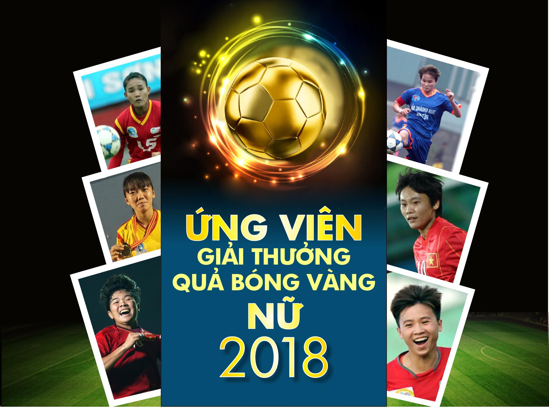 Danh sách ứng viên giải thưởng Quả bóng vàng nữ 2018