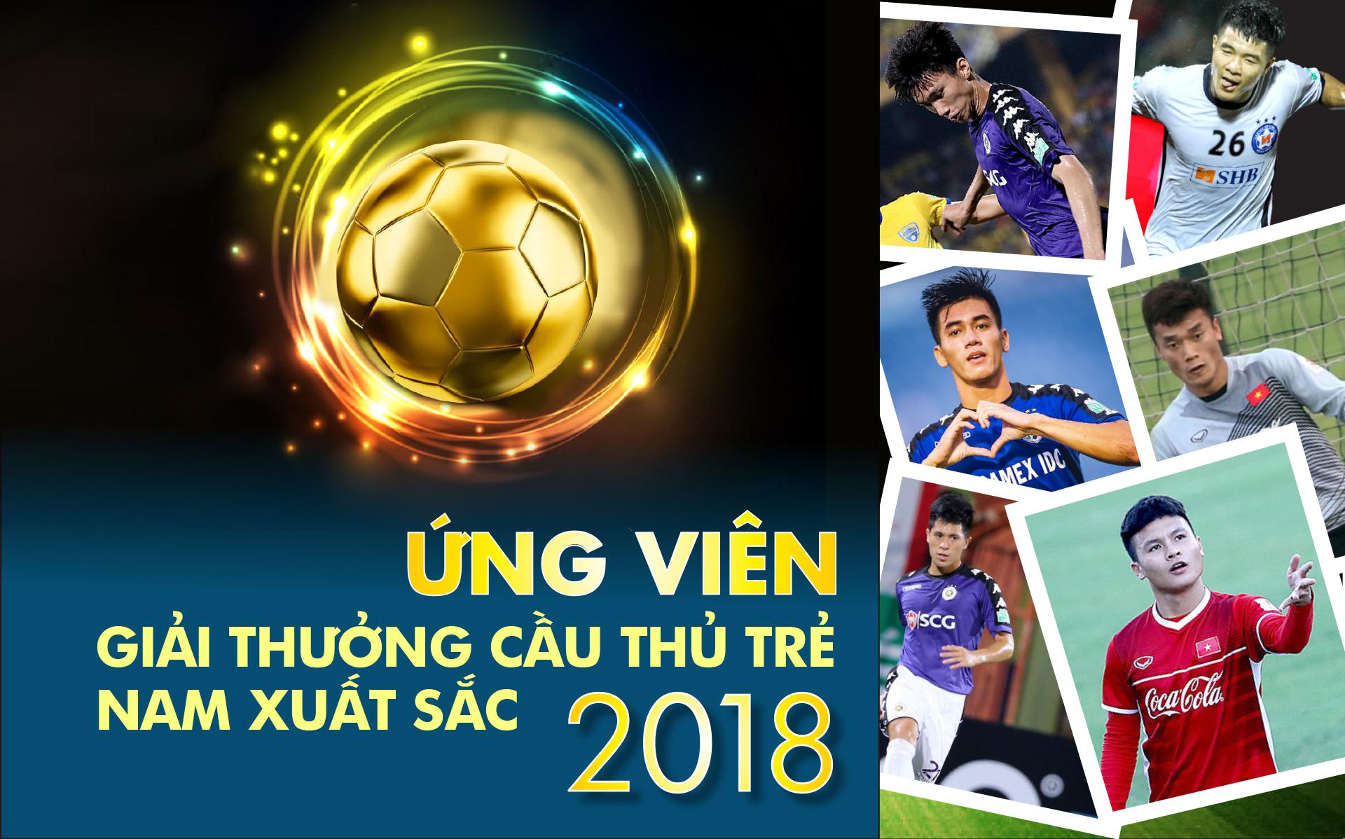 Danh sách ứng viên giải thưởng Cầu thủ trẻ nam xuất sắc 2018