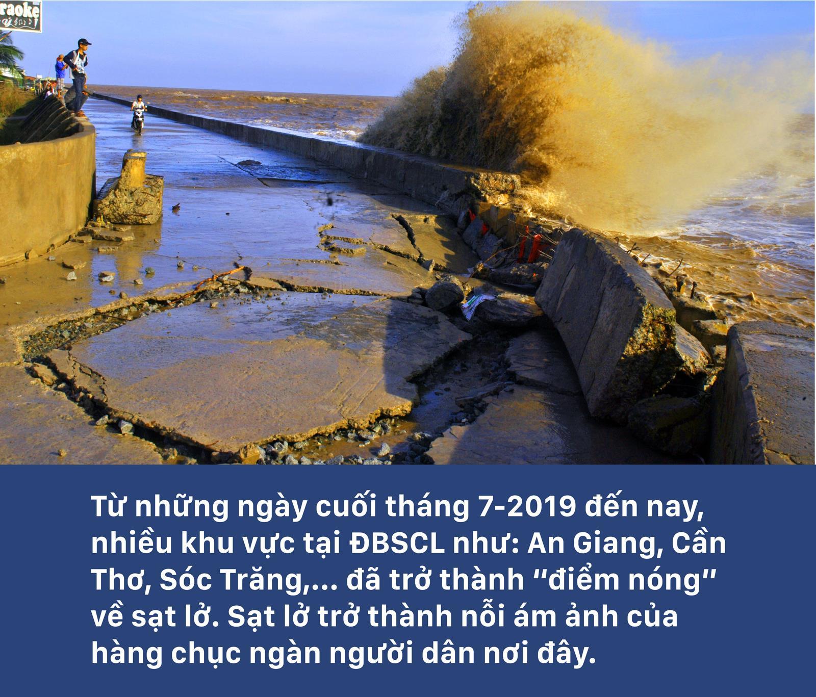 """Sạt lở """"bủa vây"""" Đồng Bằng Sông Cửu Long ảnh 1"""
