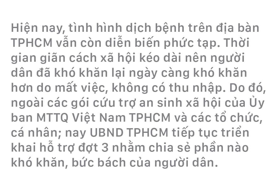 Chi tiết gói hỗ trợ lần 3 của TPHCM ảnh 1