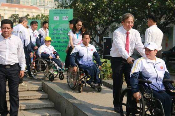 Đoàn thể thao người khuyết tật Việt Nam  xuất quân dự Para Games 9 ảnh 1