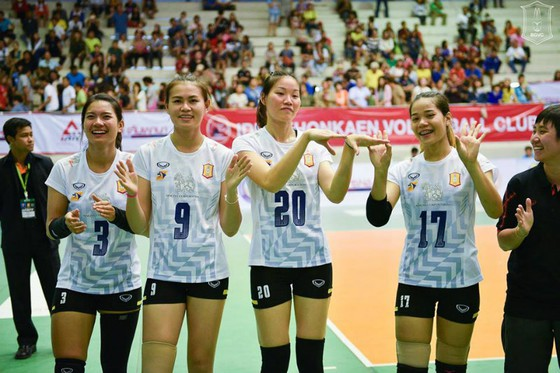 Ngọc Hoa chia tay giải bóng chuyền Thái Lan ảnh 1
