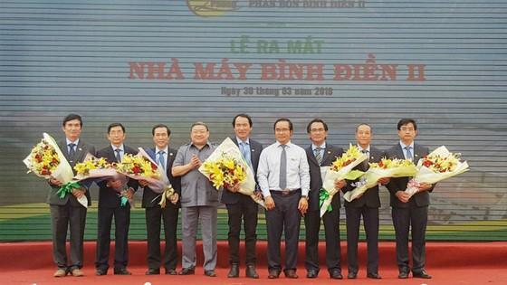 Lễ ra mắt Ban lãnh đạo nhà máy Bình Điền 2.