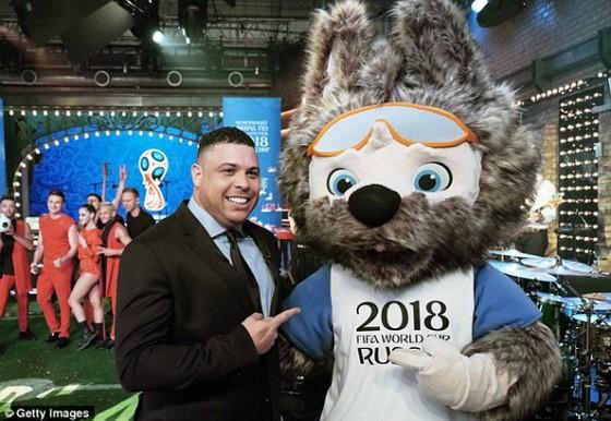 Ronaldo béo sẽ biểu diễn tại Lễ khai mạc World Cup 2018.