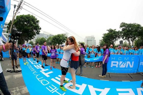 giải Marathon TPHCM luôn hướng đến giá trị cộng đồng. Ảnh: PHÚC NGUYỄN