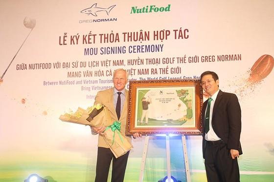 Huyền thoại golf thế giới Greg Norman hợp tác cùng Nutifood ảnh 1