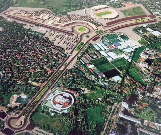 Đường đua xe công thức 1 tại Việt Nam: Độc đáo và đầy thách thức ảnh 1