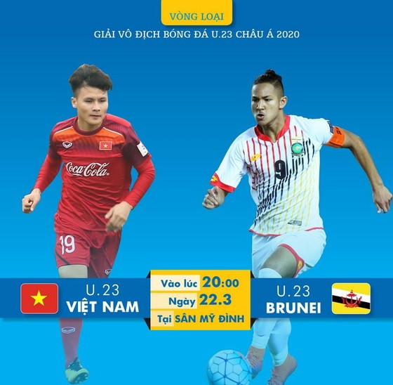 U23 Việt Nam hướng đến 3 điểm ở trận ra quân. (Đồ họa: HỮU VI)