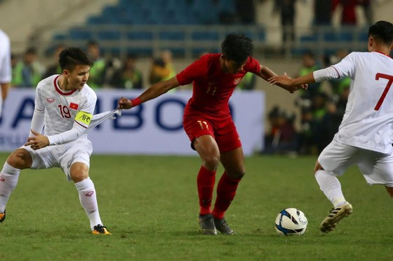 U23 Việt Nam - U23 Indonesia 1-0: 'Bàn thắng vàng' của Triệu Việt Hưng ảnh 8