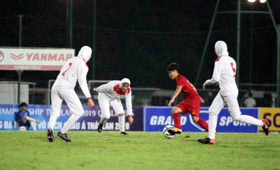 Việt Nam khá khó khăn trước đối thủ có thể hình tốt như Iran. Ảnh: Đoàn Nhật