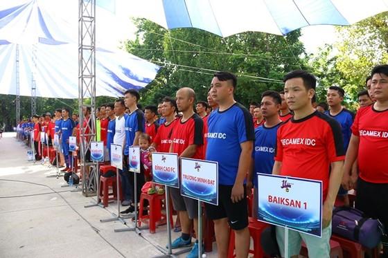 Khởi tranh giải bóng đá Thành phố mới Bình Dương – Cúp Becamex IDC 2019 ảnh 2