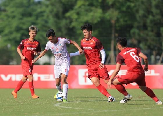 """Viettel là """"quân xanh"""" cân sức cho U23 Việt Nam trong lúc này. Ảnh: MINH HOÀNG"""