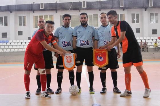 U20 Futsal Việt Nam thắng đậm đội trẻ Mes Sungun ảnh 1