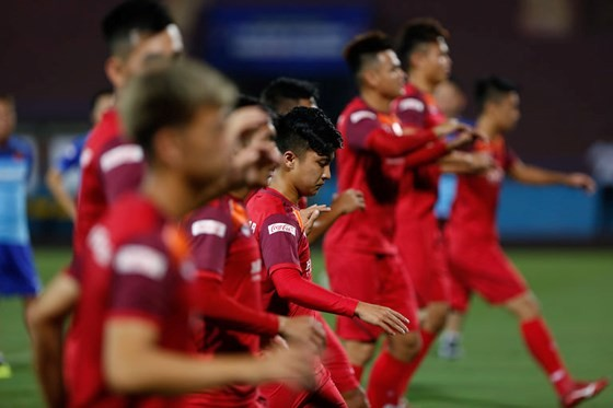 Tập trung đợt 2 đội tuyển U.22 Việt Nam ảnh 1