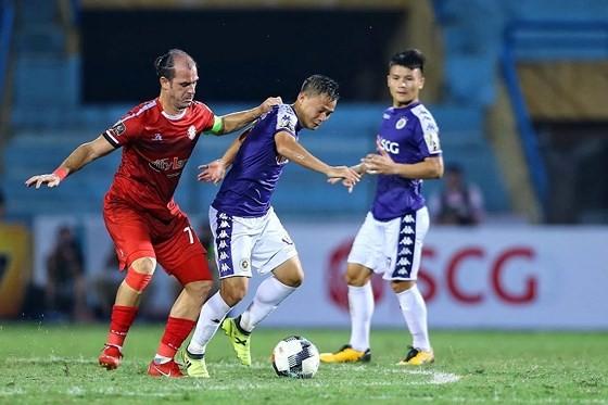 Kesley và Thành Lương, trụ cột của hai đội trong thời điểm hiện nay. Ảnh: MINH HOÀNG