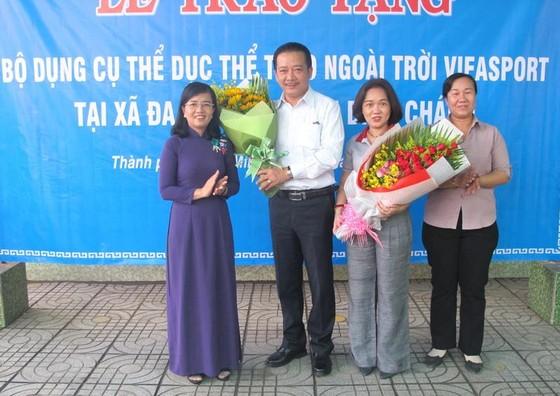 Sở VH-TT TPHCM tặng thiết bị Gym ngoài trời cho xã Đa Phước ảnh 1