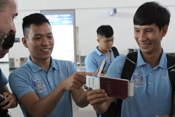 Thái Sơn Nam lên đường sang Thái Lan dự giải futsal CLB châu Á 2019 ảnh 3
