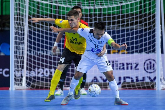 Thái Sơn Nam tái ngộ AGMK FC trong trận tranh Huy chương đồng ảnh 1