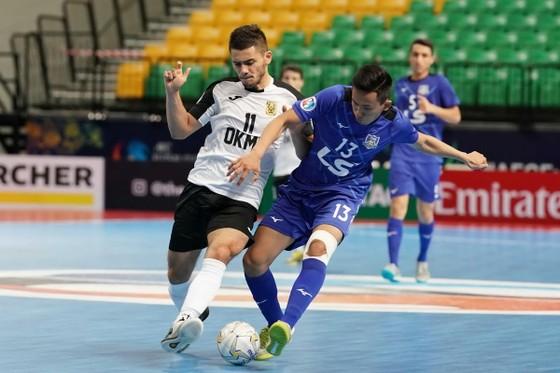 Ngược dòng thắng AGMK, Thái Sơn Nam giành hạng ba châu Á ảnh 1