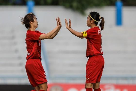 Thắng Campuchia 10-0, đội nữ Việt Nam khởi đầu nhẹ nhàng tại giải Đông Nam Á 2019 ảnh 1
