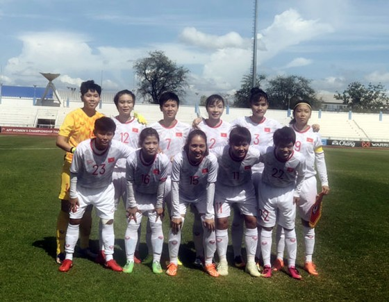Đội nữ Việt Nam sớm lấy vé vào bán kết ảnh 1