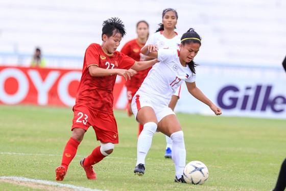 Đội tuyển nữ Việt Nam vào chung kết giải Đông Nam Á 2019 ảnh 3