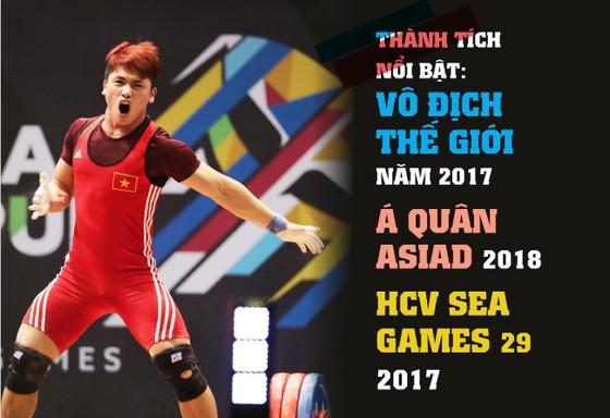Lực sĩ Trịnh Văn Vinh bị cấm thi đấu 4 năm vì dính doping. Infographic: HỮU VI