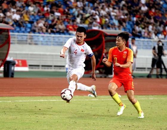 U22 Việt Nam có chiến thắng thuyết phục trước Trung Quốc. Ảnh: Đoàn Nhật