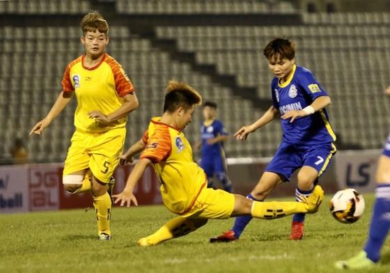 Vòng 8 giải bóng đá nữ VĐQG - cúp Thái Sơn Bắc 2019: Những chiến thắng cách biệt ảnh 1