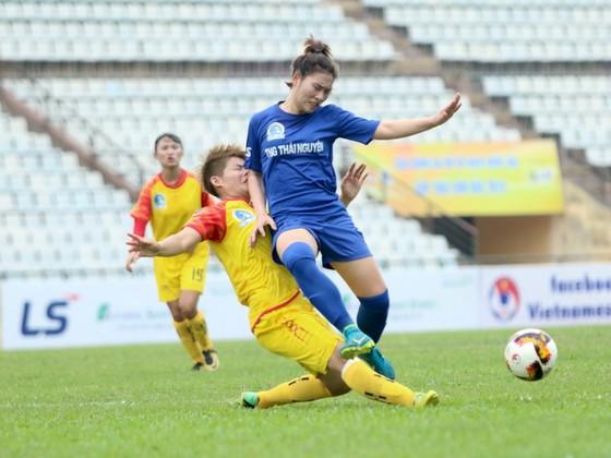 Giải bóng đá nữ VĐQG 2019: ĐKVĐ Phong Phú Hà Nam thua đau ở phút bù giờ ảnh 1