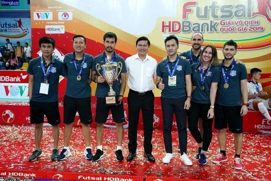 CLB Thái Sơn Nam với kỷ lục 9 lần VĐQG. Ảnh: Anh Trần
