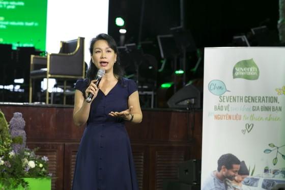 HLV Trần Lan Hương: 'Sống xanh để bảo vệ chính con cháu chúng ta' ảnh 1