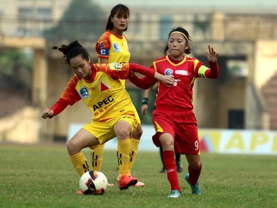 Đội nữ Hà Nội rộng cửa tranh ngôi Á quân ảnh 1