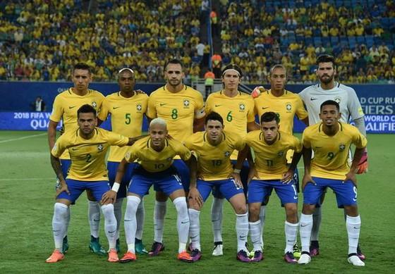 Dàn sao của Brazil sẽ du đấu ở châu Á