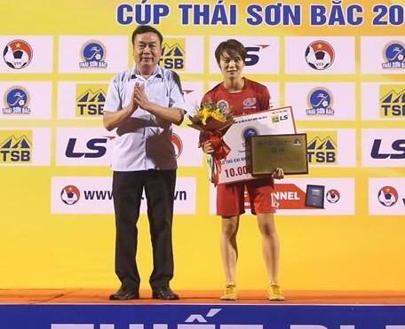 Kết thúc giải bóng đá nữ VĐQG - Cúp Thái Sơn Bắc 2019: Đội chủ nhà bị loại khỏi tốp 3 ảnh 5
