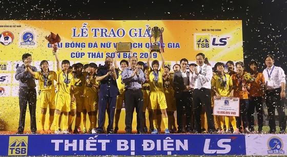 Kết thúc giải bóng đá nữ VĐQG - Cúp Thái Sơn Bắc 2019: Đội chủ nhà bị loại khỏi tốp 3 ảnh 1