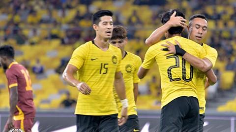 Malaysia thắng dễ 6-0 trước Sri Lanka