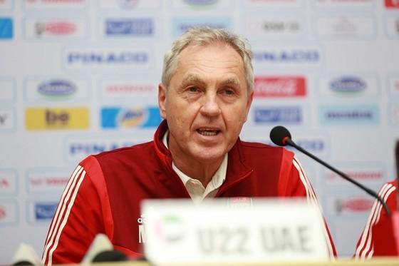Ông Mirosal Jirkal , trợ lý HLV đội U22 UAE. Ảnh: DŨNG PHƯƠNG