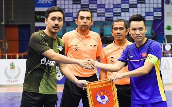 Đội tuyển futsal Việt Nam hoàn tất 2 trận tập huấn tại Thái Lan. Ảnh: Đoàn Nhật