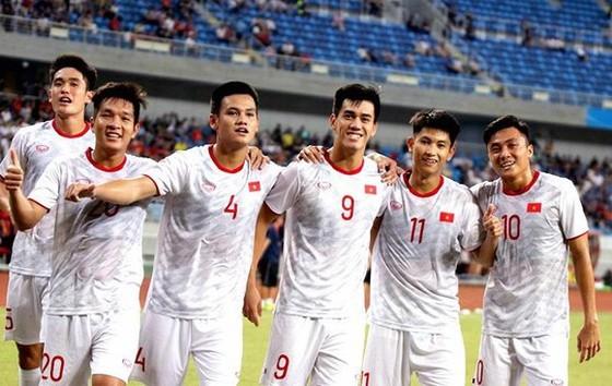 U22 Việt Nam đặt mục tiêu HCV tại SEA Games 2019. Ảnh: Đoàn Nhật