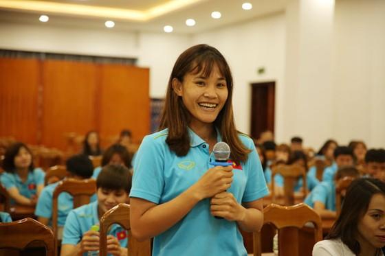 Ngày 20-10 với các tuyển thủ nữ Việt Nam ảnh 2