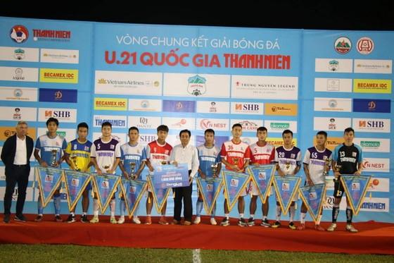 U21 Hà Nội bảo vệ thành công ngôi vô địch quốc gia ảnh 1