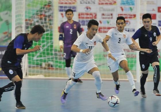 Thái Lan và Myanmar sớm giành vé vào bán kết giải futsal Đông Nam Á 2019 ảnh 2
