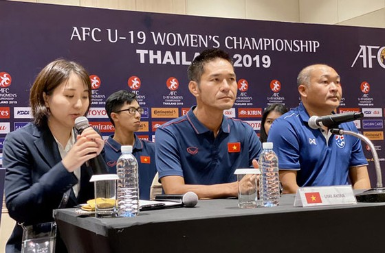Đội U19 nữ Việt Nam với mục tiêu thắng Thái Lan ở trận ra quân ảnh 1