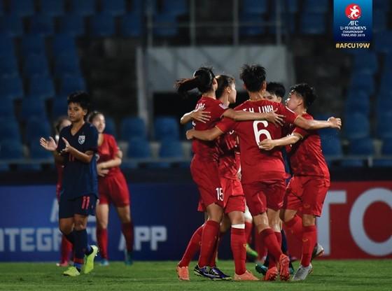 Các cô gái Việt Nam khởi đầu thuận lợi ở bảng A.